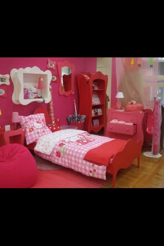Kids Hello Kitty room ( Ask Can I Get My Room Decorated Like This