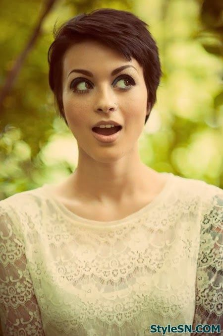 Amazing 1000 Images About Growing Out The Pixie On Pinterest Cute Short Short Hairstyles Gunalazisus