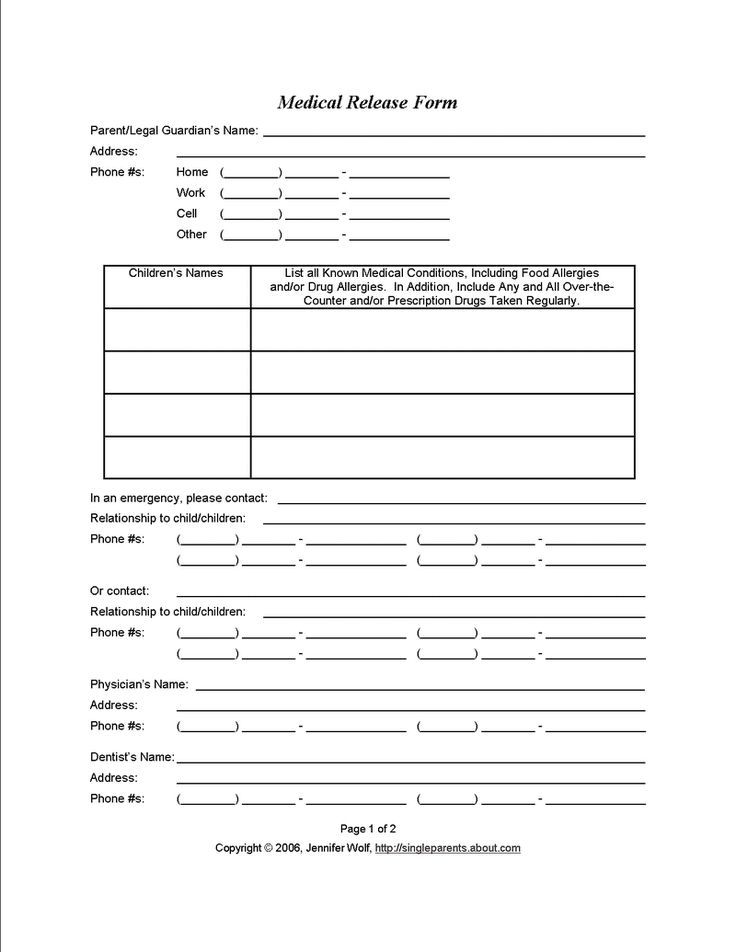 Medical Records Release Forms Are You Sure You Know What Youre - medical records release form