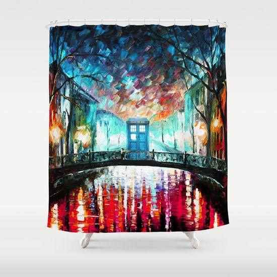 Tardis With Beautiful Starry Night - $68