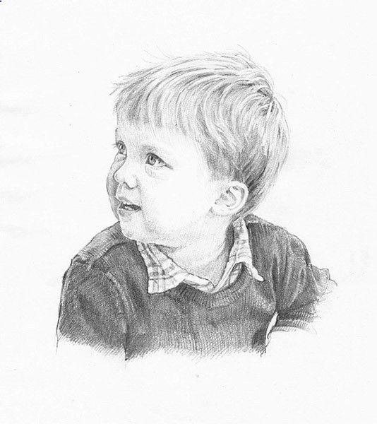 Pencil Portrait Mastery - Drawing Gallery - Pencil Portrait Artist Anna Bregman - Discover The Secrets Of Drawing Realistic Pencil Portraits