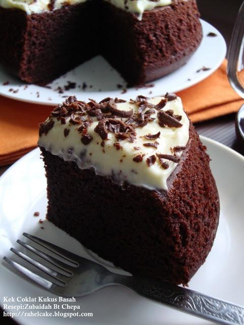 I Love Cake: Kek Coklat Kukus Basah