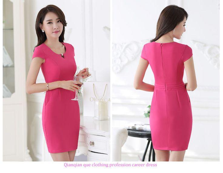 Plain Cap Sleeve Dress