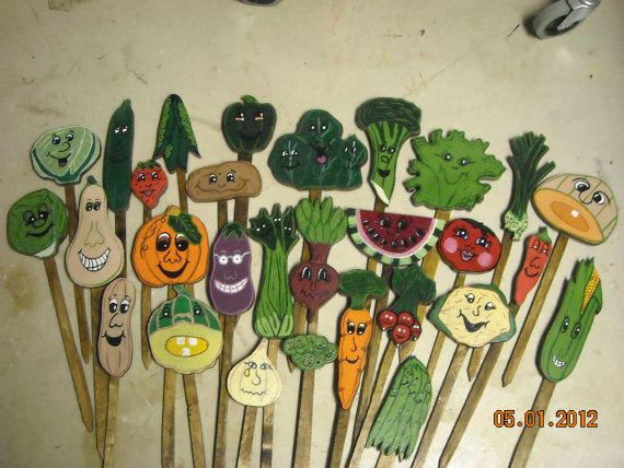 17 Best ideas about Vegetable Garden Markers on Pinterest Garden