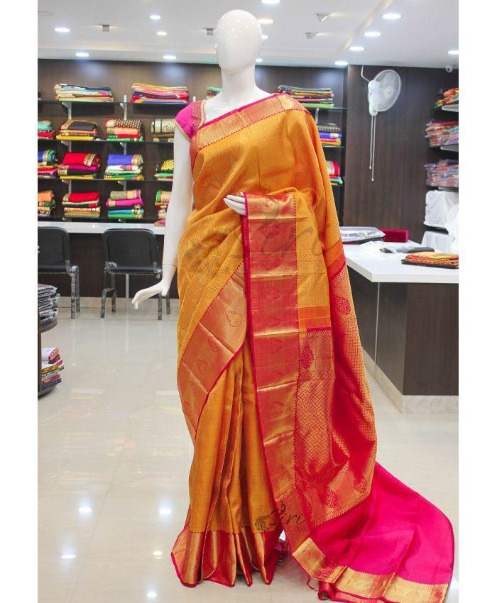 Pure Authentic Handloom Kanjeevaram silk saree