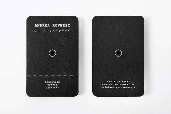 Andrea Roversi / Business Card on Behance