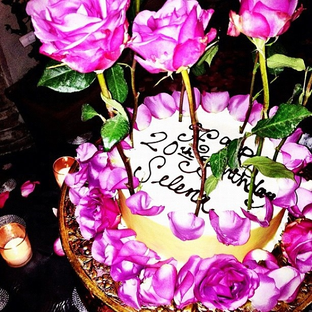 Selena Gomez 20th birthday...not really a fan of hers...I used to be a fanatic but I love her fashion and hair. :) anyways haha cool cake.