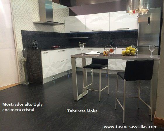 Mostrador ugly para barra de cocina o comedor se fabrica for Mesas altas de cocina