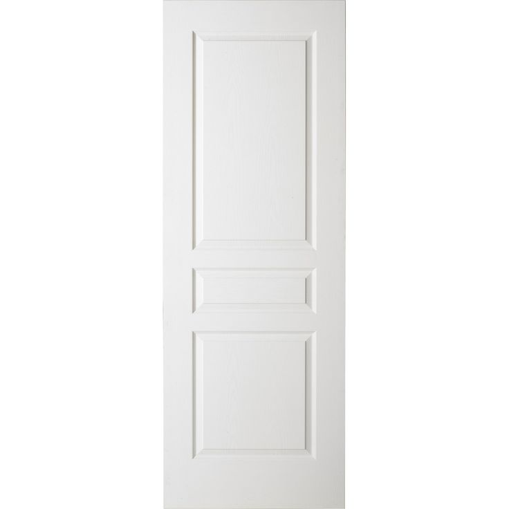 Porte coulissante, pleine, 204 x 63 cm