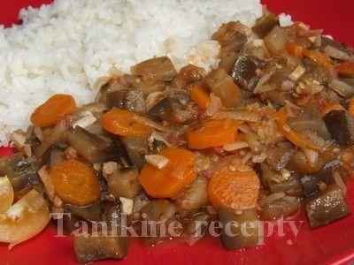 Baklažánové ragú s mrkvou :: Recepty