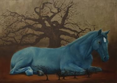 The Giant Blue Horse