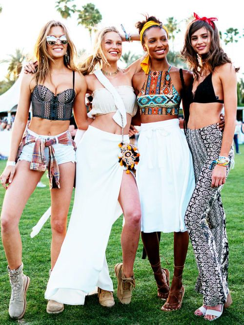 The Hottest Festival Style Trends For 2017 | Stylight