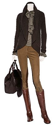 STYLEBOP.com | Washed tan stretch corduroy riding pants by POLO RALPH LAUREN | the latest trends from the capitals of the world