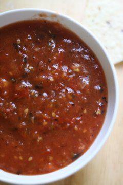 Basque salsa (the staple recipe) Hope it tastes like Wool Growers in  Bakersfield, CA