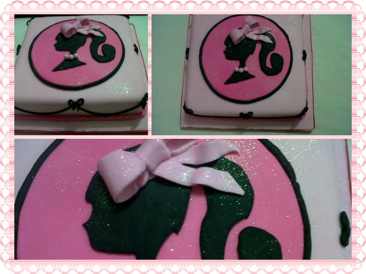 Barbie pixi cake