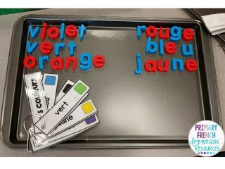 Fun french word work centres! #frenchimmersion #fsl