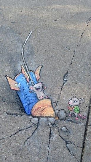 David Zinn - At Ann Arbor Summer Festival: Top of the Park (July 4, 2014)