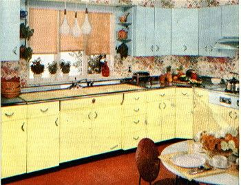 50s Kitchens 118 best vintage kitchens & appliances images on pinterest   retro