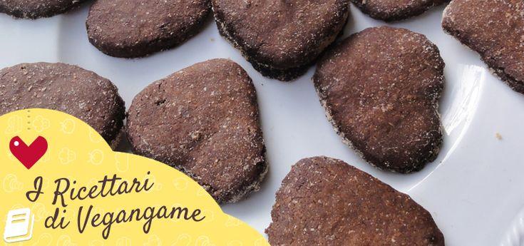 Ricette Biscottini Vegan - I Ricettari di Vegangame! ♥ #ricettevegan #ricette #vegan #vegangame Link al Ricettario: http://www.vegangame.it/i-ricettari-vegangame/ricette-biscottini-vegan