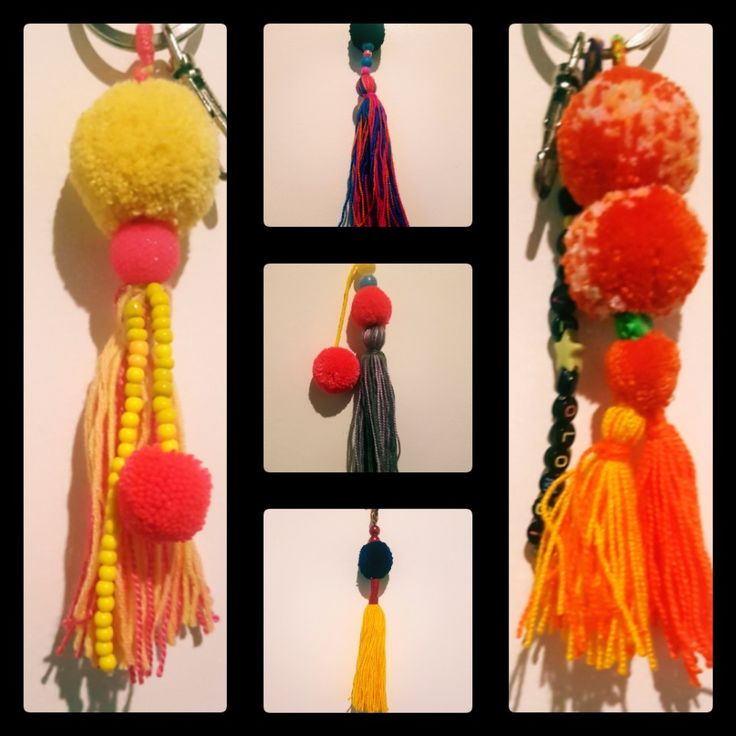 #KeyChain 💚💚💚!!! #pompom #ideas #souvenires #Colombia