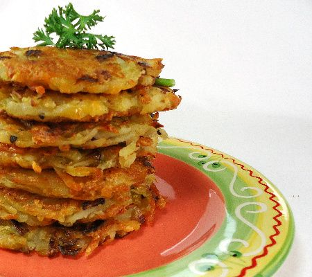 Bubble and Squeak Rösti...from the kitchen of One Perfect Bite courtesy of Delia Smith