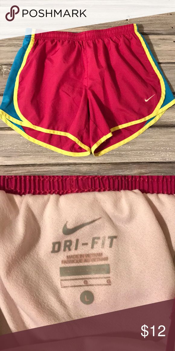 nike shorts nike hot pink shorts; worn a couple of times; great condition Nike Shorts