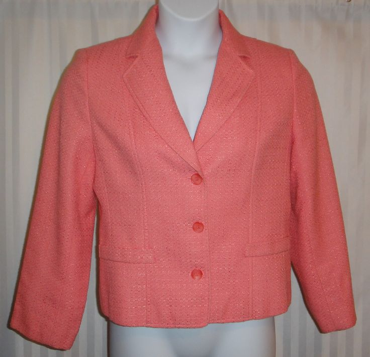 Coral Blazer available now at ChicCentSations eBay Store