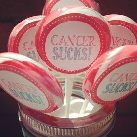 Simply Put Events & Design: Yippee! Cancer Free - 8.1.12