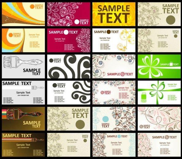 Visitenkarten Kostenlos Download Und Visitenkarten
