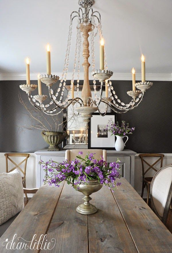 Kendall Charcoal in our Dining Room  by Dear Lillie