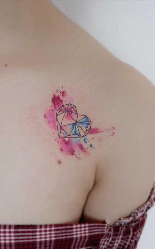 Tatuagem aquarela: 60 inspirações, significados e desenhos (com imagens) | Tatuagens aquarela, Tatuagem, Tatuagem colorida