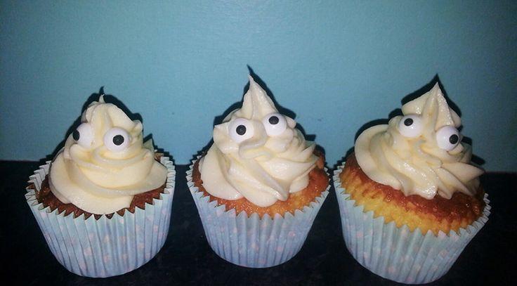 Glutenfri cupcakes til halloween