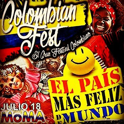 Ayyyyy que orgulloso..me siento  de haber nacido en COLOMBIA. Esta noche The Colombian Fest!. Musica nuestra..con los nuestros y 20% off en Agte LL.