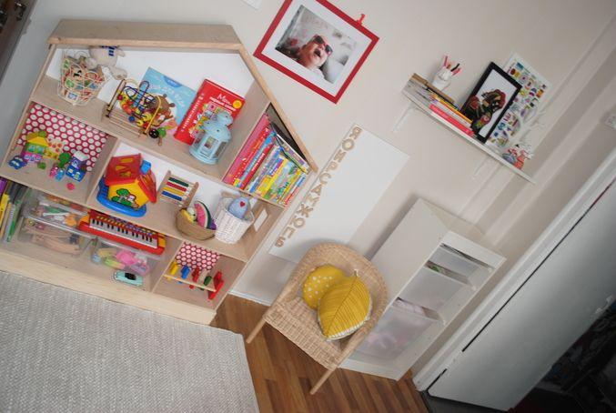 Система хранения игрушек в однокомнатной квартире. - Дизайн интерьера - Babyblog.ru