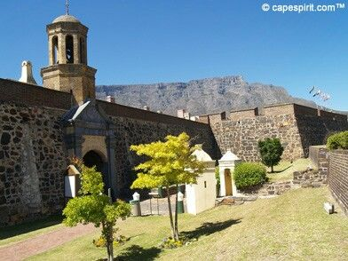 Castle of Good Hope in Cape Town, South Africa
