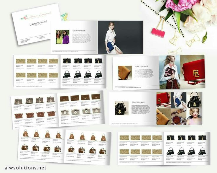 Beautiful catalog design available