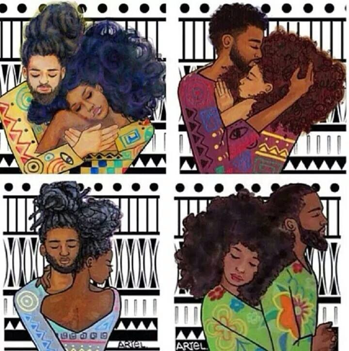 beauty , art  and black love. Queens & Kings
