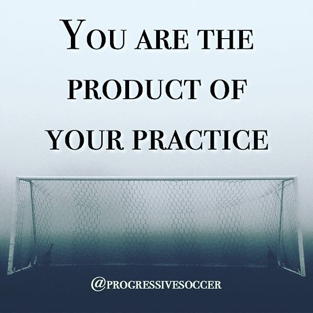 The player you are today is the direct result of the practice you have put in. Not happy with the way you play? Change the way you practice.