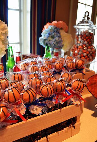 Basketball Cake Pops by Simply Sweet Creations (www.simplysweetonline.com)