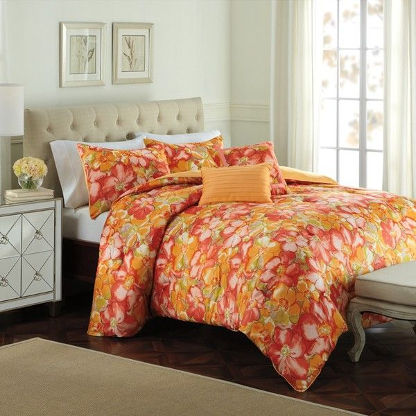 Best Raymond Waites Modern Floral Bedding By Raymond Waites 400 x 300