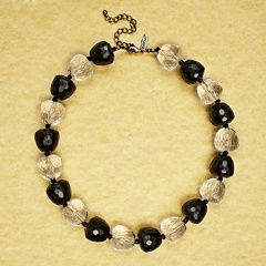 Avenue Bold Beaded Necklace Womens Plus Size