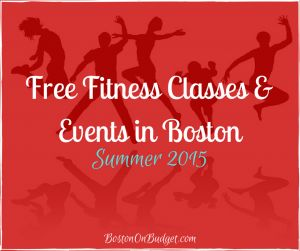 Free Fitness Classes and Events in Boston for Summer 2015