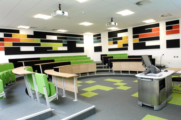 Harvard Classroom Design : Harvard style lecture theatre at loughborough