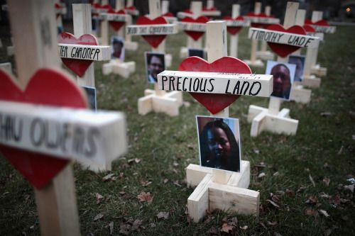 Photos of the day  January 23 2016Forty-three crosses sit in a...  Photos of the day  January 23 2016  Forty-three crosses sit in a vacant lot in the Englewood neighborhood on January 23 2017 in Chicago Ill.; a protestor supporting Jallikattu a traditional bull-taming ritual tries to resist as police remove them from the Marina beach on the Bay of Bengal coast in Chennai India; a photo taken with a multiple exposure shows Serena Williams of the USA in action against Barbora Strycova of the…