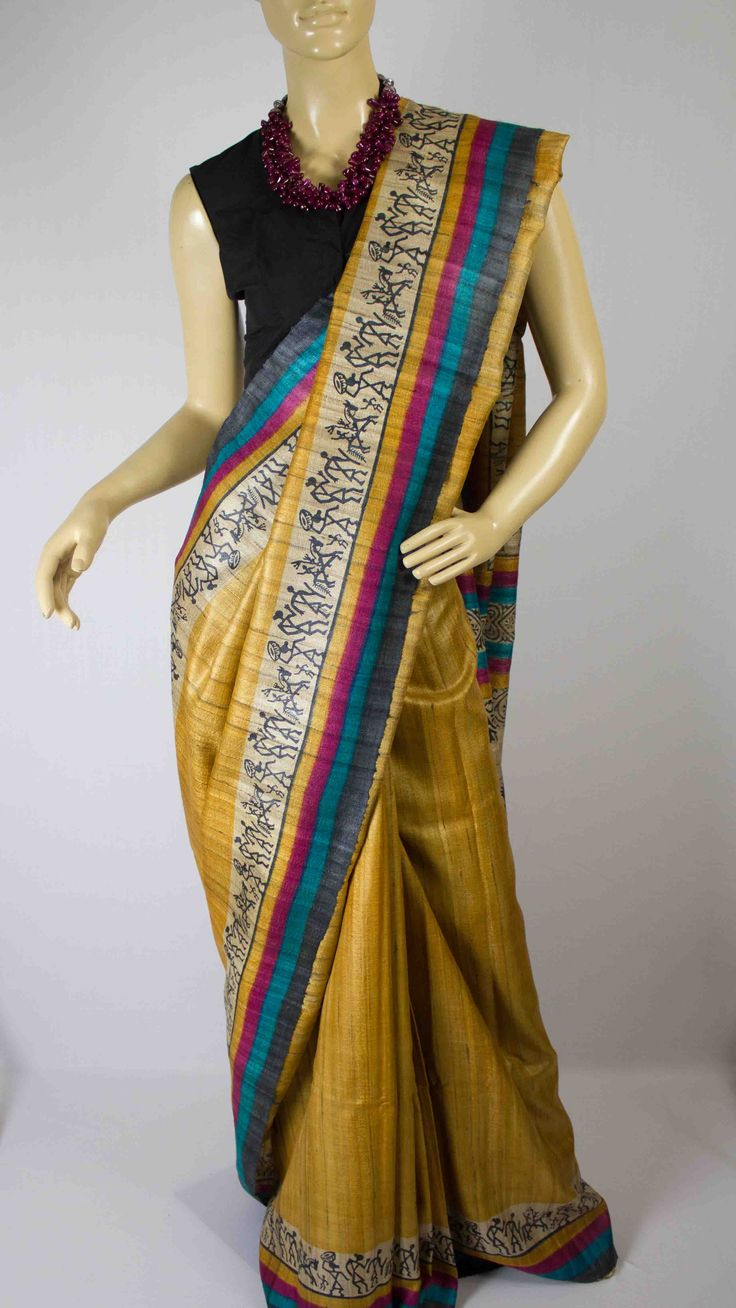 Champa #Handwoven #saree #craft #India #weaving