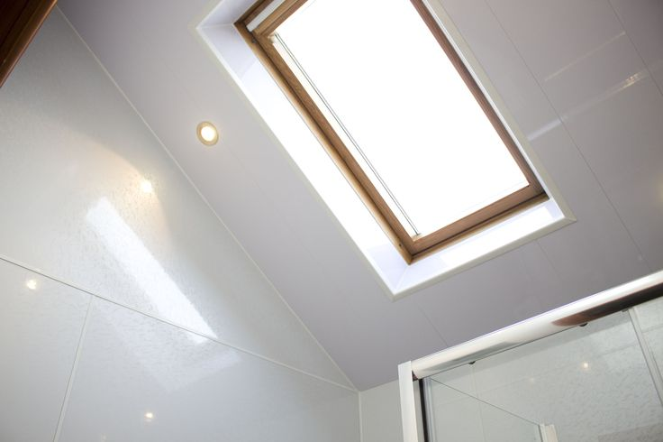 Multipanel Walls Classic Range - Frost White and Multipanel Ceilings - White Matt