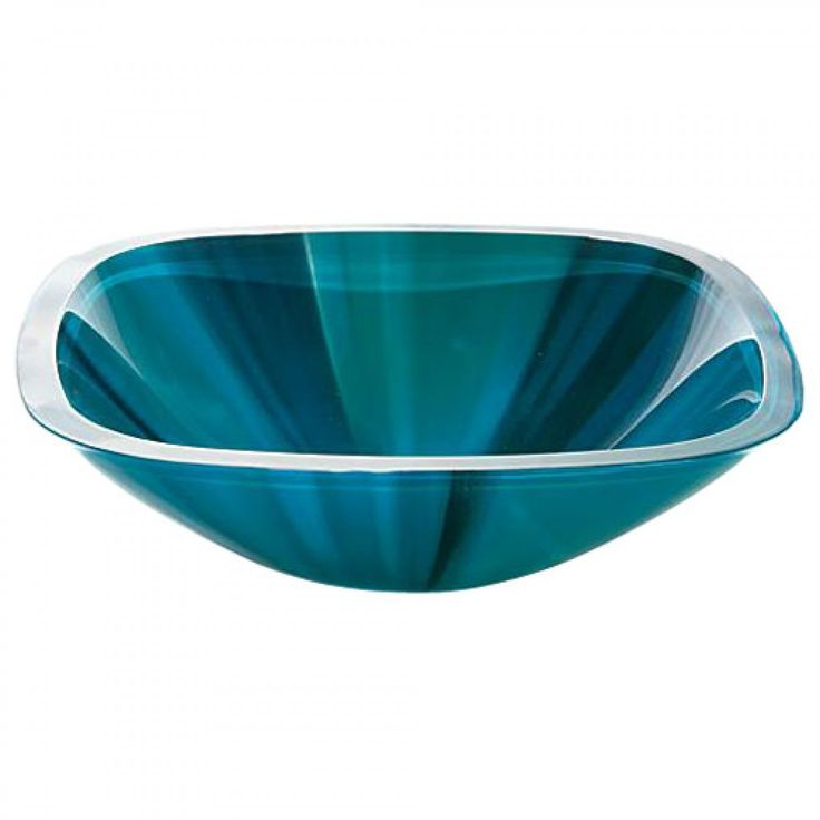 Turquoise Glass Vessel Sink - Bathroom Sinks - Bathroom