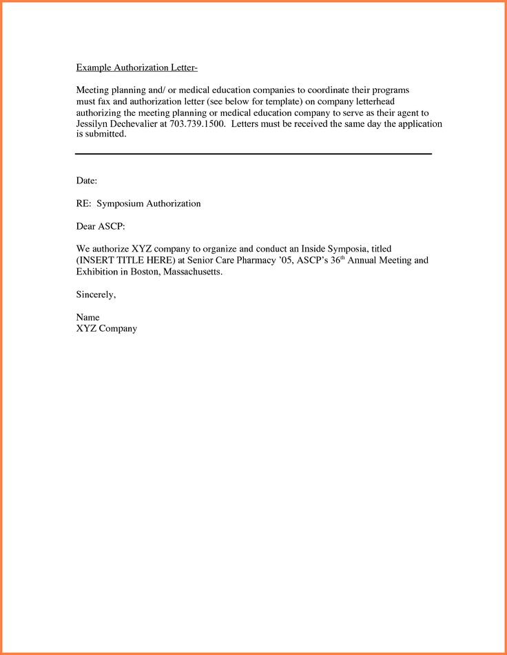 sample authorization letter sales report template