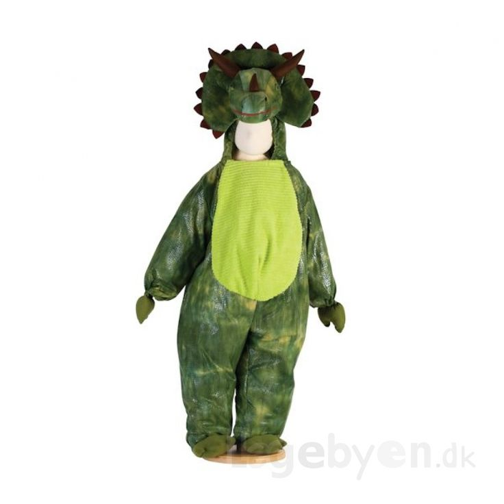 Køb Udklædning - Triceratops Dinosaur - 3-5 år. online - Udklædning og Rolleleg