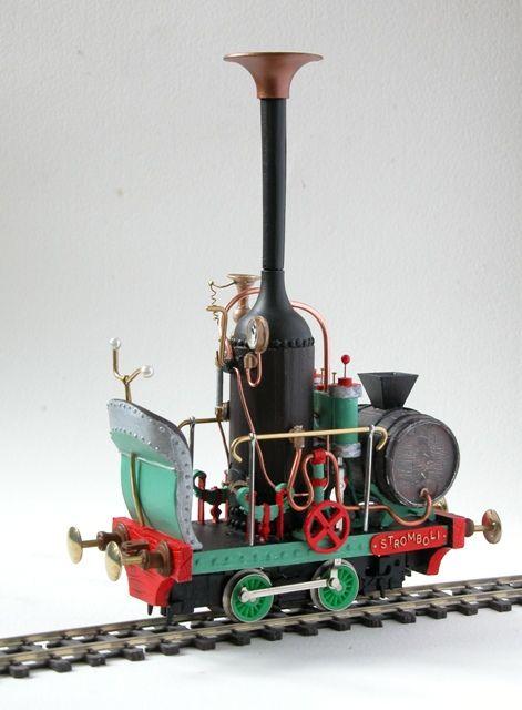 'Stromboli' Gn15 Emett locomotive body kit, £70.00
